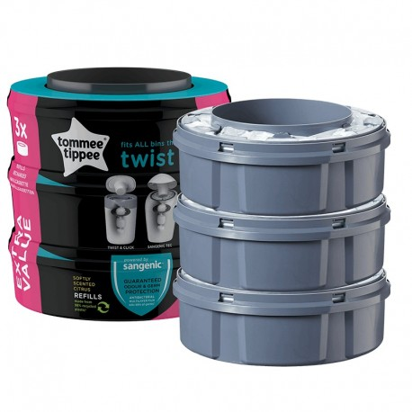 Recambios Sangenic Twist and click